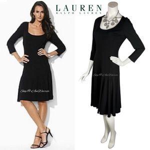 NWT Ralph Lauren matte jersey midi dress